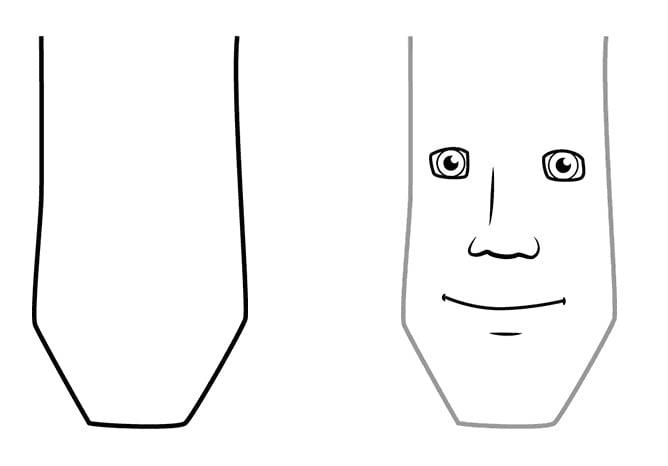Поэтапное рисование царевича