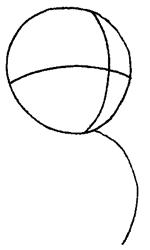 как нарисовать Микимауса поэтапно