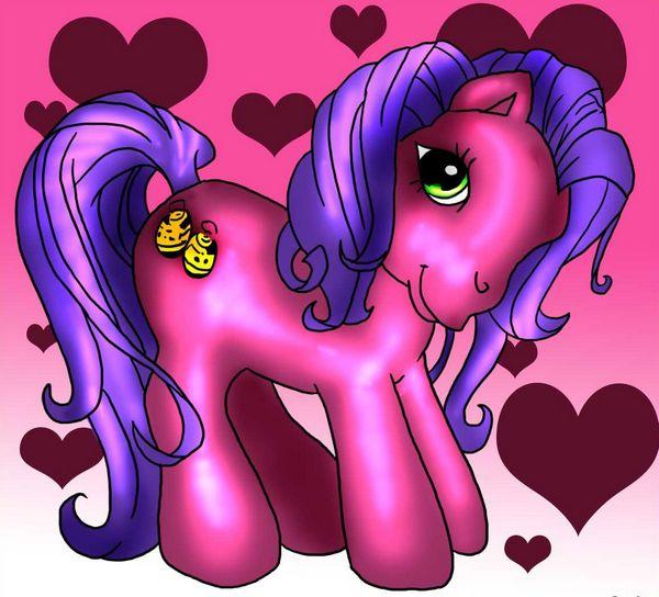 фото как рисовать мой маленький пони