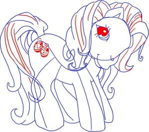 как рисовать Май Литл пони