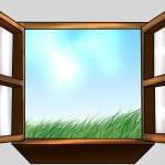 Как нарисовать окно поэтапно карандашом
