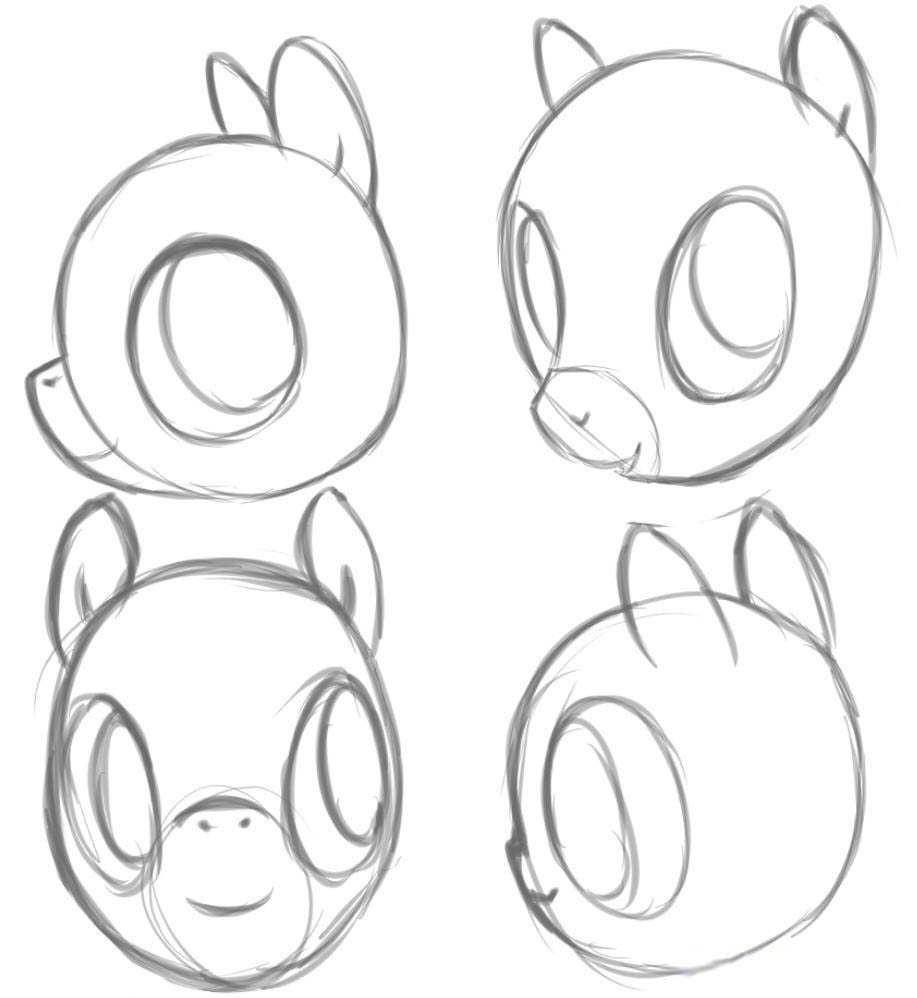 Рисовать глаз пони