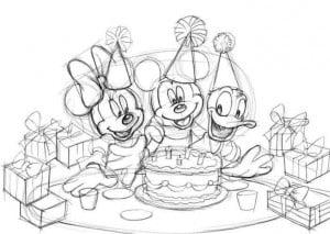 как нарисовать на день рождения открытку
