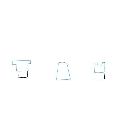 Рисовать рисунок квадратами