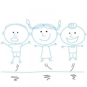 как рисовать девочку для детей