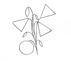 risuem-cvetok-kolokolchik-2