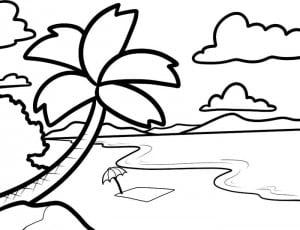 как нарисовать лето