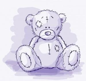 как правильно рисовать мишек Тедди