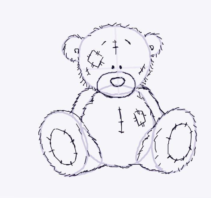 Медведя картина