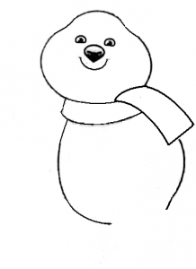 как рисовать олимпийского мишку поэтапно