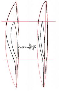 как нарисовать олимпийский факел карандашом