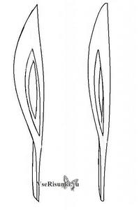 как нарисовать олимпийский факел поэтапно