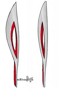 как нарисовать олимпийский факел 2014