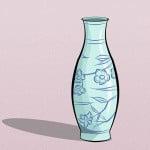 Как нарисовать красивую вазу карандашом поэтапно