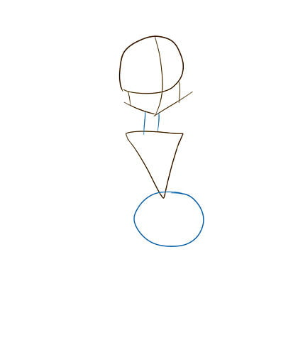 Эскизные линии рук и ног клодин вульф