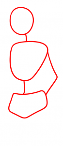 как рисовать женское тело поэтапно