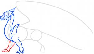 как нарисовать дракона карандашом картинки