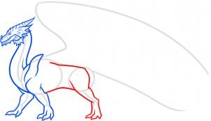 видео как нарисовать дракона карандашом