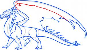 Рисуем дракона самостоятельно