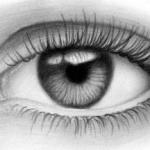 Как нарисовать реалистичный глаз карандашом поэтапно