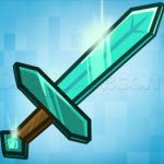 как нарисовать алмазный меч из майнкрафт