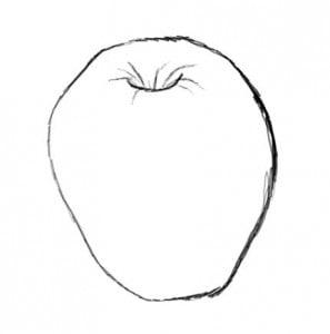 как рисовать яблоко поэтапно