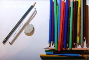 карандаши для урока