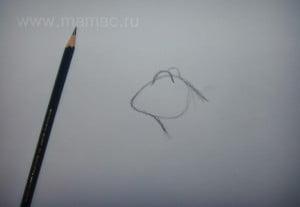 рисуем глаза царевны-лягушки