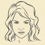 как нарисовать лицо девушки карандашом