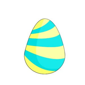 как красиво нарисовать пасхальные яйца