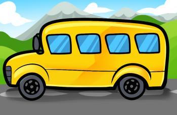 как нарисовать красивый школьный автобус карандашом