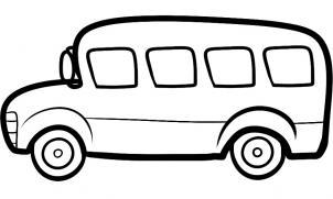 как нарисовать автобус поэтапно