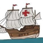 как нарисовать корабль карандашом поэтапно