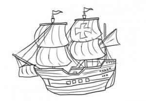 как правильно нарисовать корабль